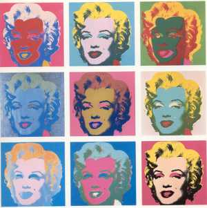 Andy Warhol,  Marilyn for web